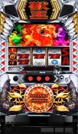 パチスロ獣王「王者の覚醒」 筐体